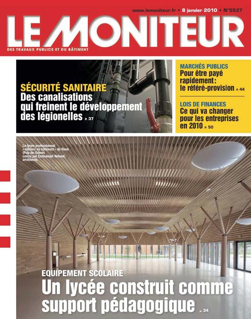 Le Moniteur - 01/2010