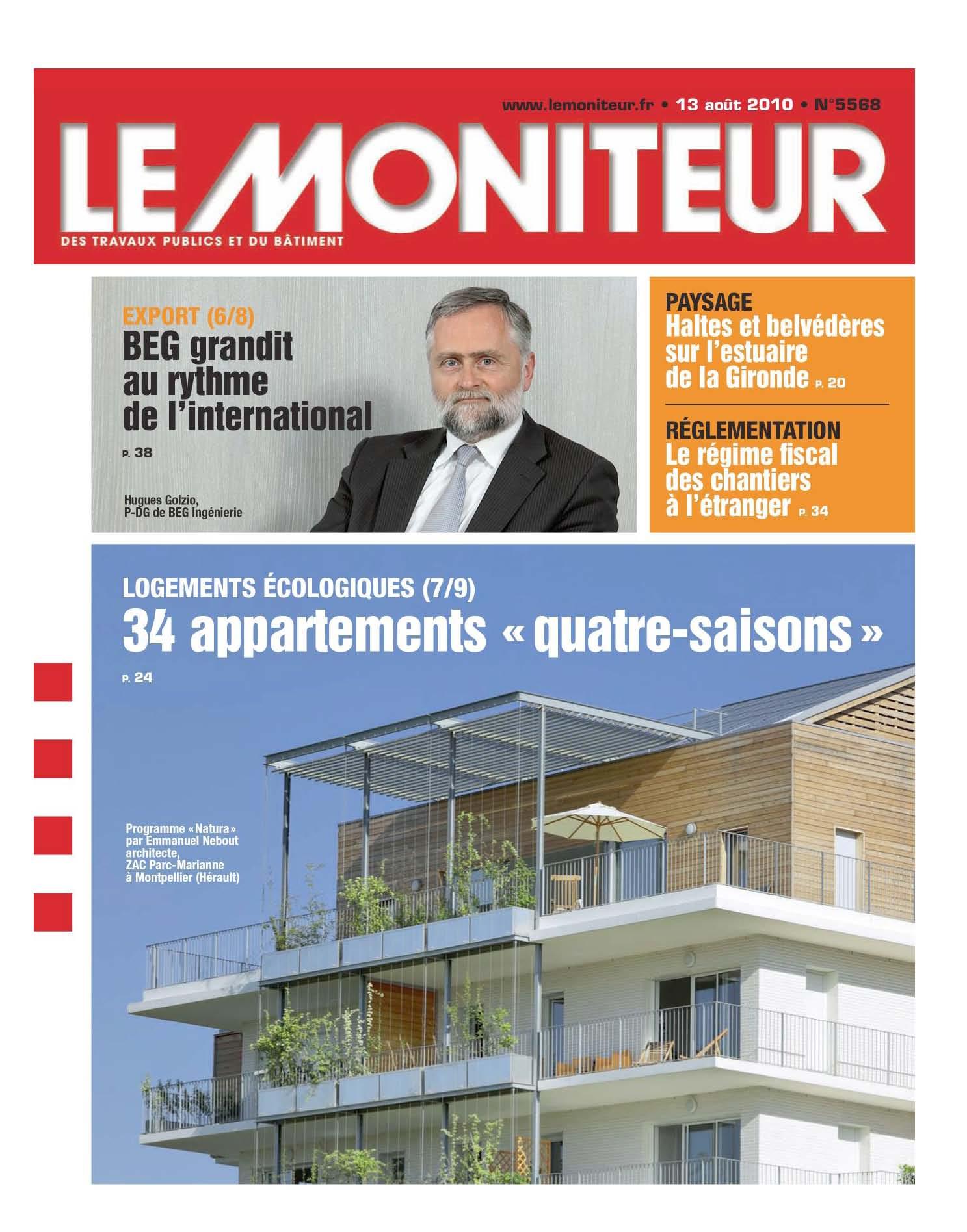 Le Moniteur - 08/2010