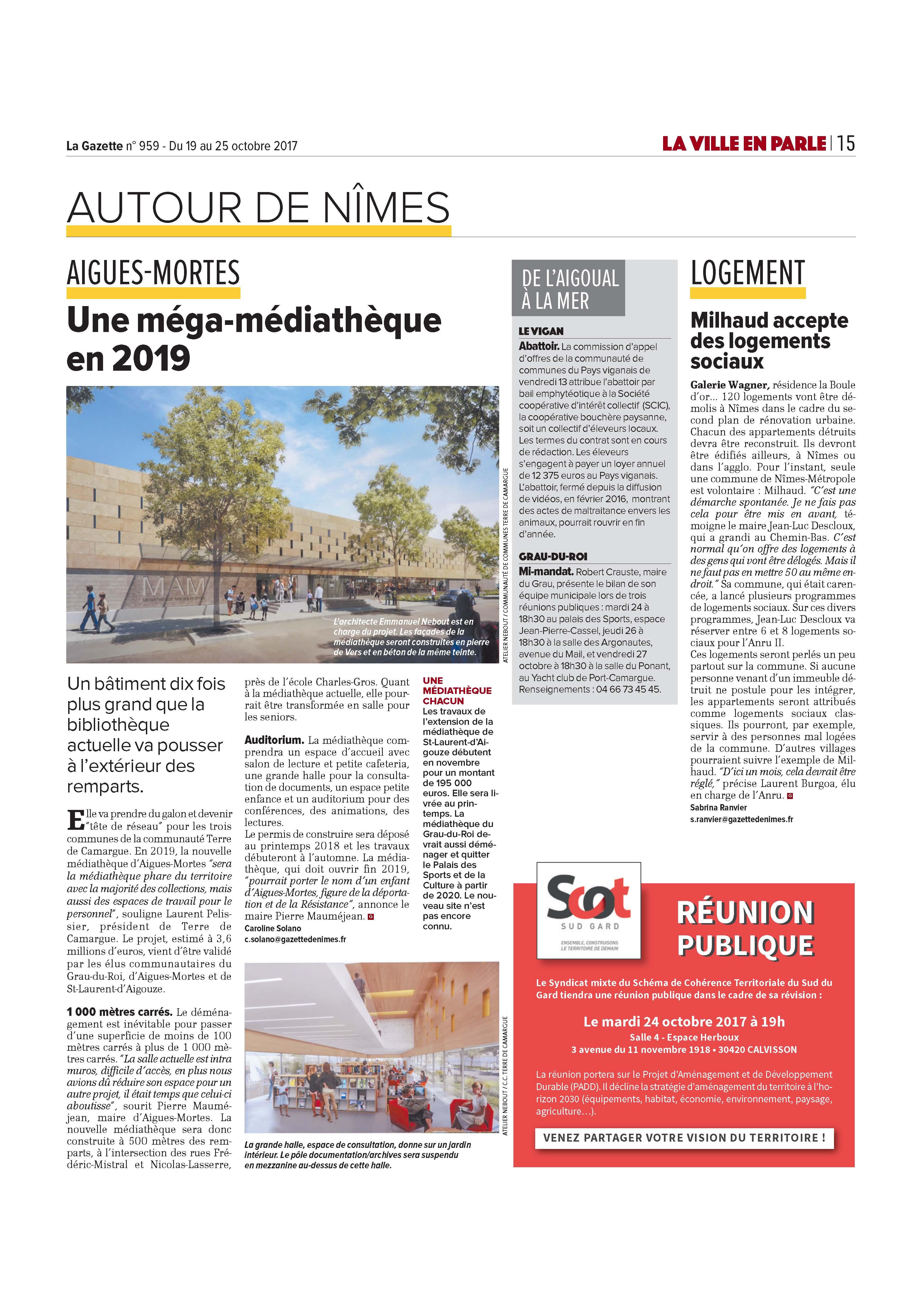 La Gazette de Nîmes 10/2017