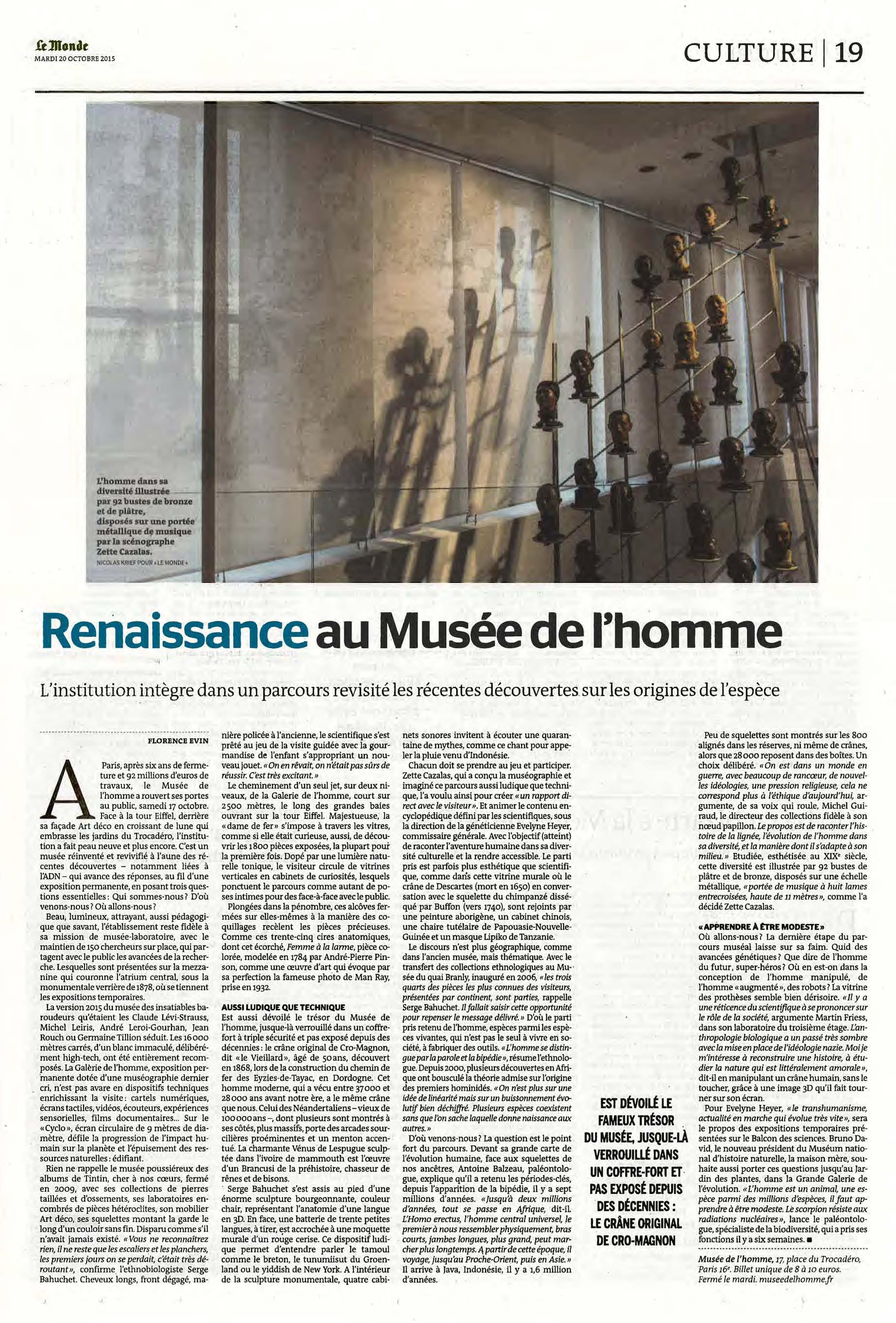 Le Monde - 10/2015